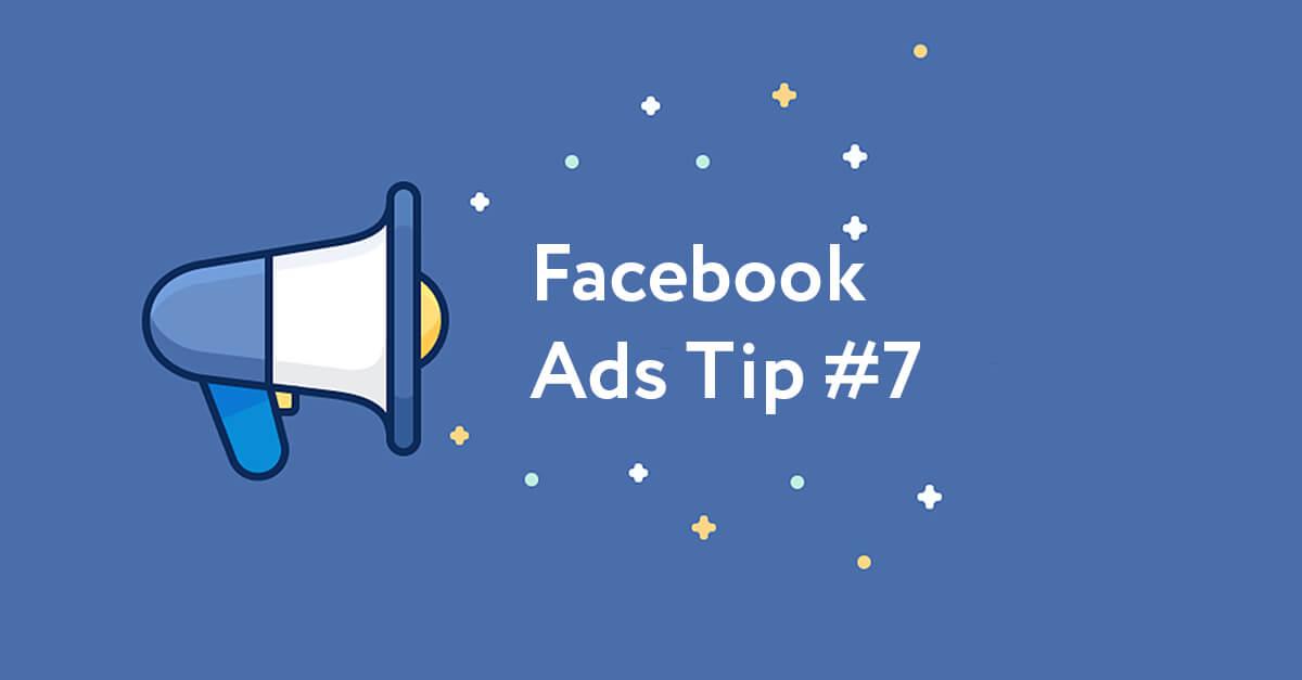 Facebook Ads Tip #7: Створіть враження невідкладності